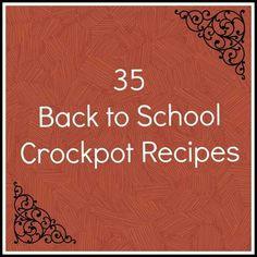 Crockpot dinners