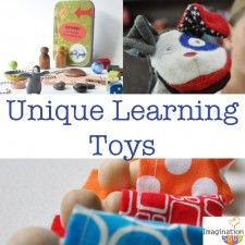 Unique Learning Toys for Kids - my favorites for fall.