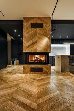 Паркет шеврон дъб от Tavar Parquet dal 1950 Проектът е на арх. Павел Янев и  архитектурно му студио ALL in Studio. Фотографията е на Nikki Candelero. #parketsense #tavar #parket #parquet #wood #floor #interior #interiordesign #home #паркет #подови настилки #woodworking #architecture #design #homedecor #parquetflooring