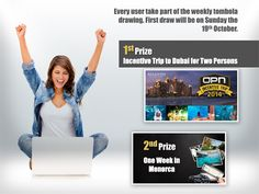 Have you ever wanted to get a luxury holiday for your online activities on SiteTalk? Well now everyone gets the opportunity to use their earned points and credits (C) by getting their hands on SiteTalks new tombola tickets. You spend time, invite friends and use SiteTalk – WE give you points that you convert to credits that gives you a chance to win many prizes every week and every month.  Sign up for free: www.SiteTalk.com/PlayAndEarn !