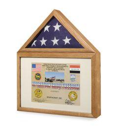 Flag Medal Display case Flag Medal Shadowcase