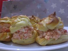 Profiteroles salados - Receta - Canal Cocina