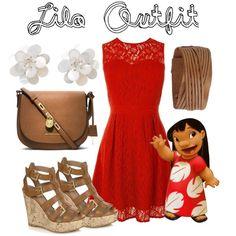 """Lilo outfit"" by senaidah on Polyvore"
