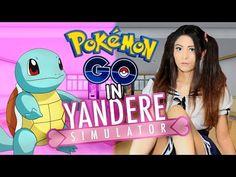 POKEMON GO IN YANDERE SIMULATOR!! | Yandere Simulator Gameplay in Cosplay! - YouTube