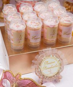 Pink Ballerina Party for girls cake pops