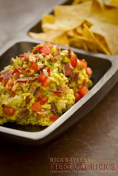 Bacon and Tomato Guacamole Rick Bayless.