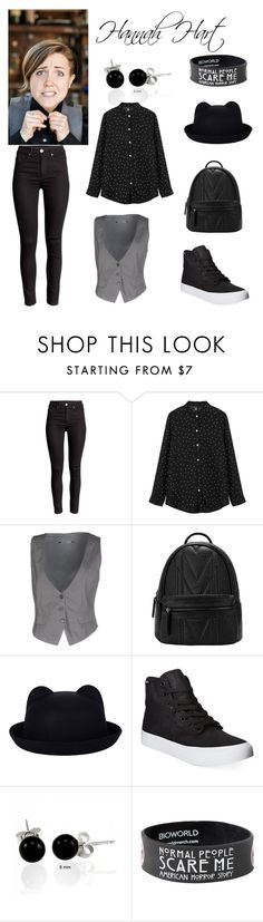 """""""Hannah Hart"""" by skylarkyoutuber on Polyvore featuring European Culture, Vans, Bling Jewelry, women's clothing, women, female, woman, misses and juniors"""