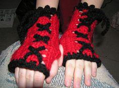 Rebellious Wristlets Part Duex - Free Crochet Pattern
