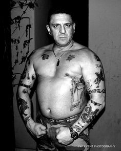 tatuajes ruso facial