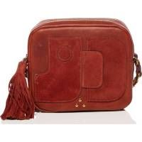 JÉRÔME DREYFUSS Pascal Lambskin Bag. #jérômedreyfuss #bags #shoulder bags #suede #