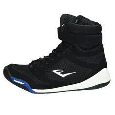 Everlast Elite Boxing Shoes - Black