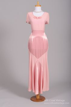 1970's Oscar de la Renta Vintage Wedding Gown : Mill Crest Vintage