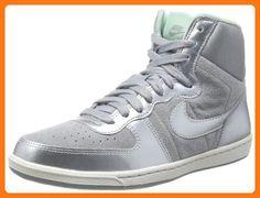 Nike Women's Shoes Terminator Lite High Color Silver / Sail / Arctic Green  / Metallic Silver