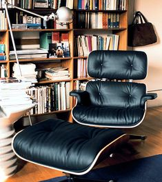 Eames Lounge Chair & Ottoman...Best. chair. ever.