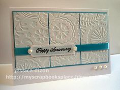 SC351 HAPPY ANNIVERSARY by tommygirloz - Cards and Paper Crafts at Splitcoaststampers