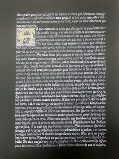 Carta de Cristobal Colón a Luis de Santangel ( hoja 5)