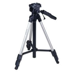 """Run the show with just one hand with this remote tripod that lets you steady the camcorder or digital camera and operate it directly from the tripod grip. (expandable from 17.5"""""""" to 45""""""""). � Remote Operation Directly From The Tripod Grip � Remote Zoom In/Out, Start/Stop And Lock/Standby � Expands From 17.5� To 45� In Height � Easy Height Adjustment With Elevator Mechanism..."""