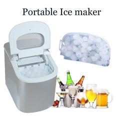 Smad 110 V Portátil Mini máquina de Hielo Máquina De Hielo Cubo de Alta calidad Compacto de Control Táctil de Sobremesa máquina de Hielo Hacen 26 libras/día hielo