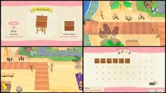 animal crossing wallpaper qr codes Animal Crossing: New Horizons New Tiles, Streets, Wood Steps And Paths QR Codes, Custom Designs April 2020 Wood Path, Wood Steps, Stone Path, Animal Crossing Qr Codes Clothes, Animal Crossing Game, Motif Acnl, Ac New Leaf, Motifs Animal, Path Design