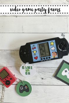Game On! Find the perfect budget friendly Video Game Party Favors with these FREE printables from Everyday Party Magazine #VideoGame #GamerParty #XBOX #PlayStation