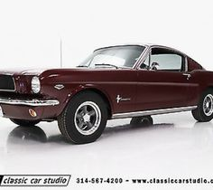 1965 Ford Mustang Base Fastback 2-Door 1965 Ford Mustang K-Code, Rotisserie Restoration, Matching Numbers Engine/trans