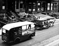 finlay drive, dennistoun 1955