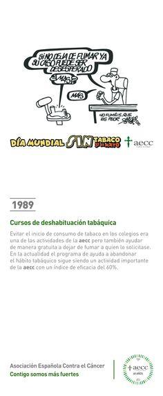 1989. Cursos de deshabituación tabáquica