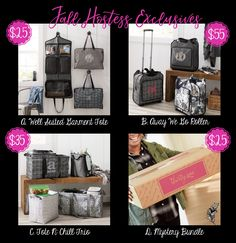 Fall 2017, Hostess Exclusives, Thirty-One, fall hostess exclusives