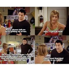 *amy walks out*. You sure you want to eat that?   Joey: I'm curvy and I like it!