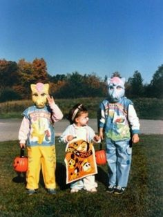 Two original Bronies. | 23 Adorable Pictures Of Halloween Kid Costumes From The '80s