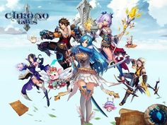 Chrono Tales android game first look gameplay español