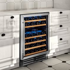 Wine Enthusiast Classic 46 Dual Zone Wine Cellar (Stainless Steel Trim) - Wine Enthusiast