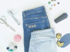 The Ultimate Guide to Repair Denim & Customize Jeans - Thread Stories Slow Fashion, Sustainable Fashion, Jeans, Style Inspiration, Denim, Blog, Sustainability, Inspired, Life