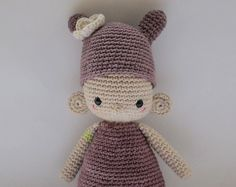 Bertine, one of the U.T.I.s - Crochet Pattern by {Amour Fou}