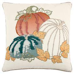 Harvest Pumpkin Patch Pillow