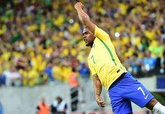 Renato Augusto Willian and Douglas Costa - Form trio to lead Brazil charge against Paraguay