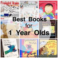 Best Books for One Year Olds | great books your older infant or young toddler will love | Bambini Travel