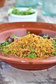Gluten-Free Crispy Toasted Quinoa