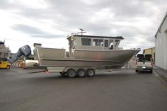 3500 Walk-Around - Cold Water Boats - Cold Water Boats Ocean Fishing Boats, Boat Interior, Aluminum Boat, Castle House, Boat Dock, Speed Boats, Bait, Boating, Castles