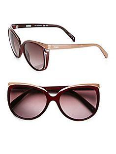 Fendi - Sleek Round Sunglasses