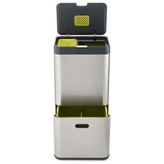 Joseph Joseph Intelligent Waste Totem 60L Stainless Steel Bin