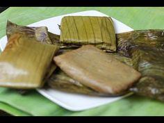 insulso - insulso de maiz - insulso de platano y maiz - envueltos de plátano - elmundodelynda - YouTube