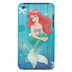 Ariel and Castle Barely There iPod Covers
