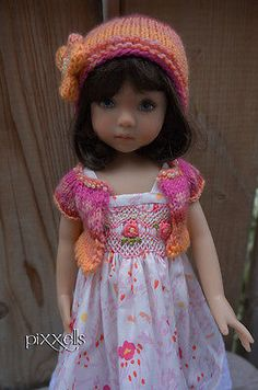 "Smocked Sunshine Dianna Effner Little Darlings 13"" Linda Macario by pixxells"