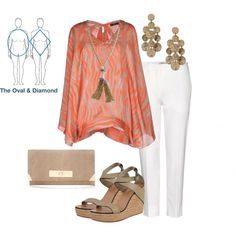 """""""Body Shape Series - The Oval & Diamond, Pt. 1"""" by brianmaynor on Polyvore"""