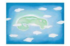Oil On Canvas, Canvas Prints, Art Prints, Georgia Okeefe, White Clouds, Print Store, Art Google, Paper Art, Island