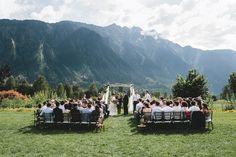 Scenic mountain wedding ceremony inspiration | Image by BAKEPHOTOGRAPHY