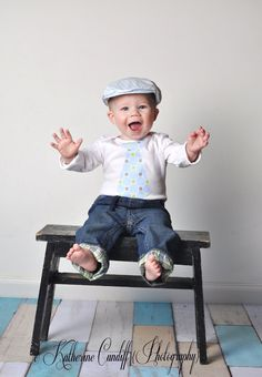 Baby Boy Cake Smash Birthday Gift Tie Onesie.  Any Tie on Any Size Onesie.  First Birthday, Second Birthday Party Outfit.. $15.50, via Etsy.