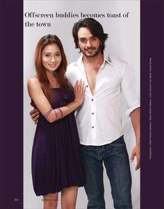 Sara Khan & Angad Hasija