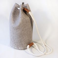 Felt backpack Mens large backpack / Sailor bag Man bag by Rambag, £65.00 Have you checked out the useful duffel bags